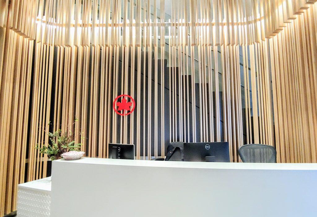 Entrance AC Lounge YUL