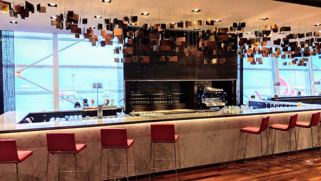 Bar Air Canada Maple Leaf Lounge Montreal