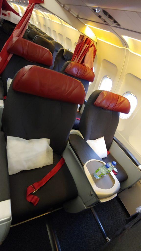 Air Canada Rouge Premium Seats