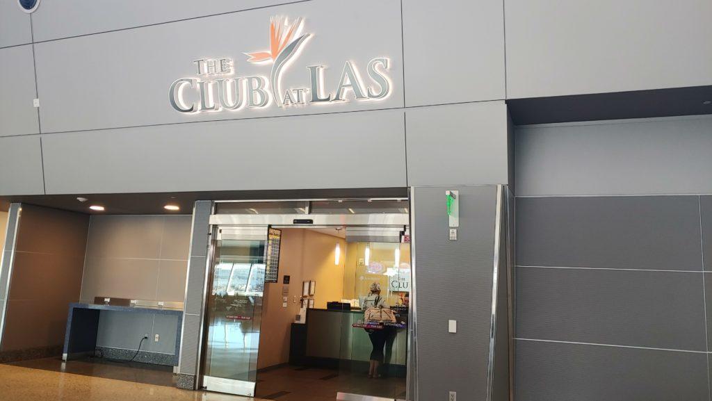 Entrance The Club at Las Vegas Airport