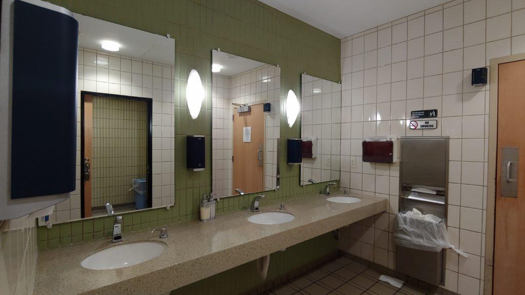 Restroom The Club at LAS Airport