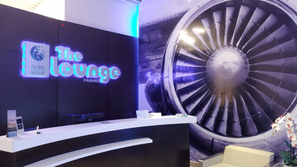 Entrance The Lounge Panama by Global Lounge Network