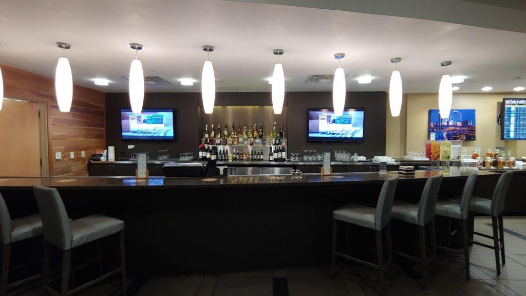 Bar Area The Club at LAS