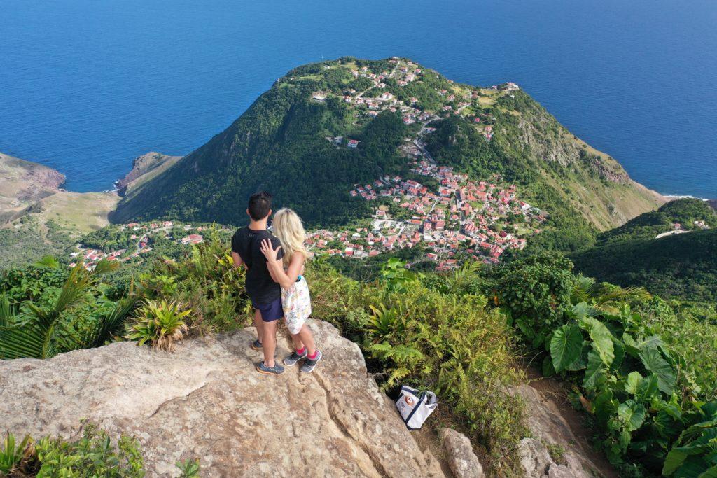 Saba Hike Views