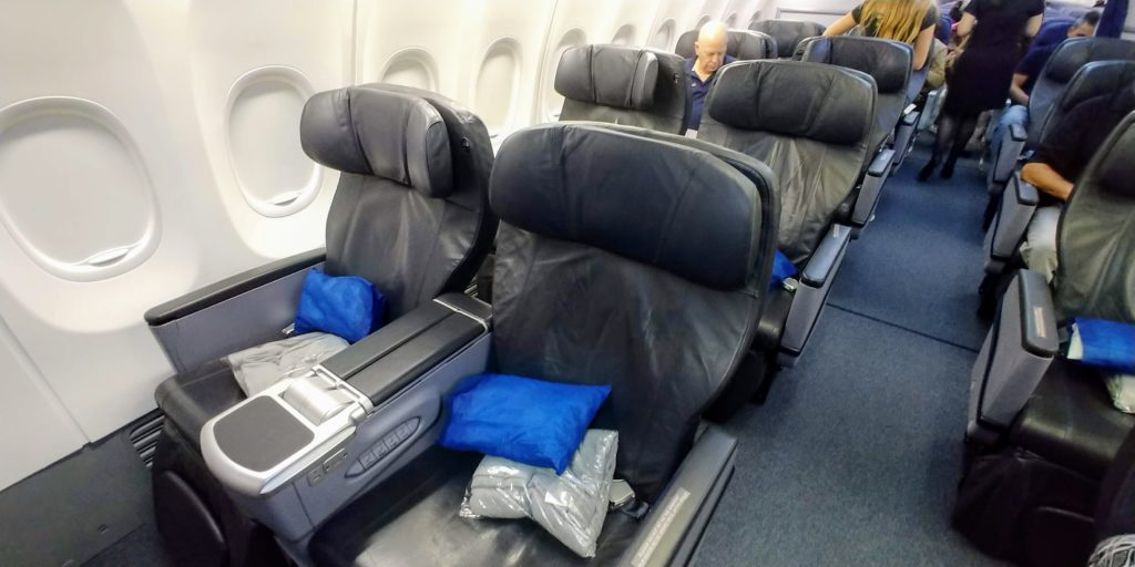 Copa Airlines Business Class Cabin 738