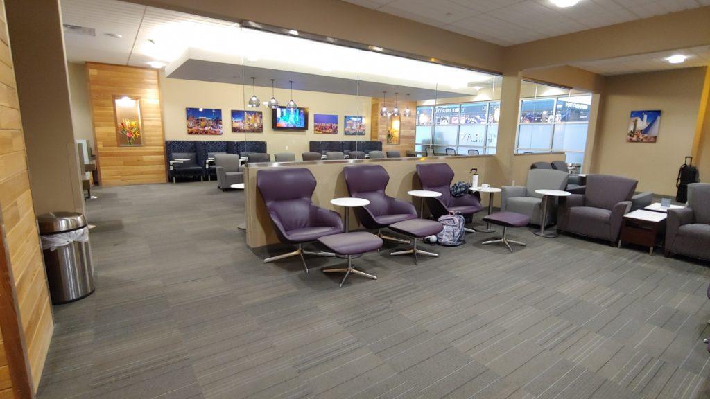 Lounge area The Club LAS