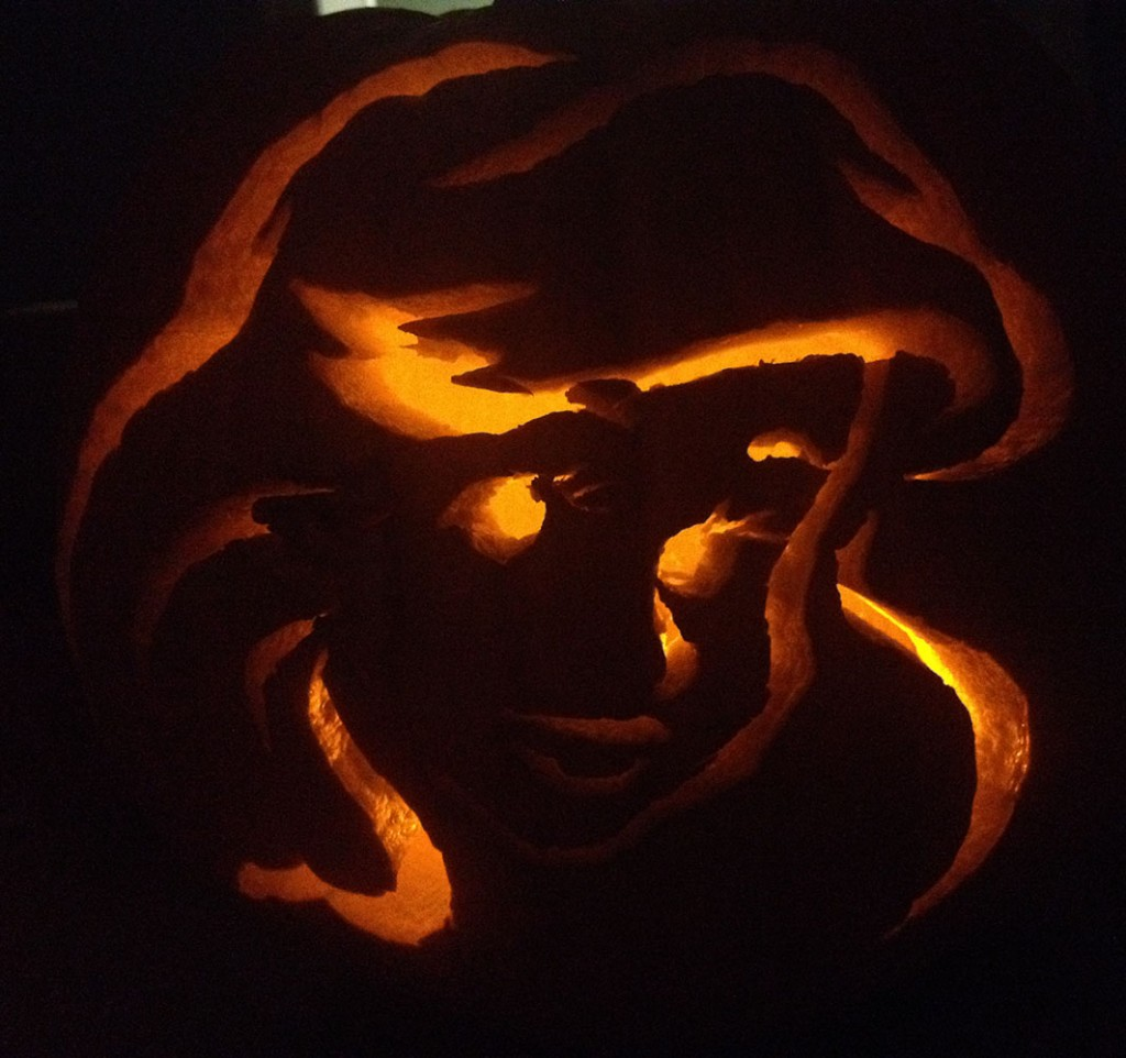 Ariel Pumpkin Carving