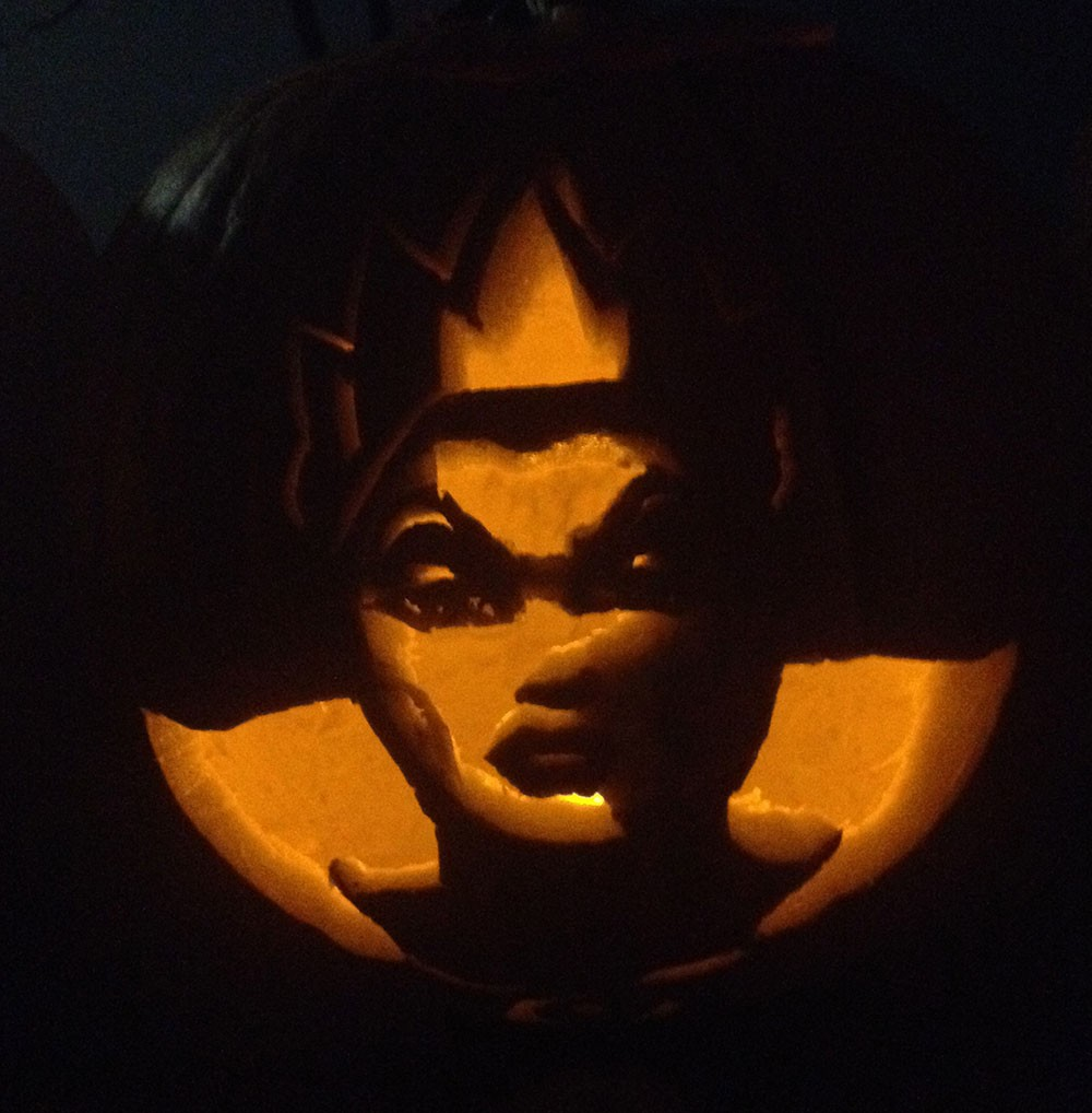 Evil Queen Pumpkin Carving