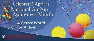 National Autism Awareness Month Banner