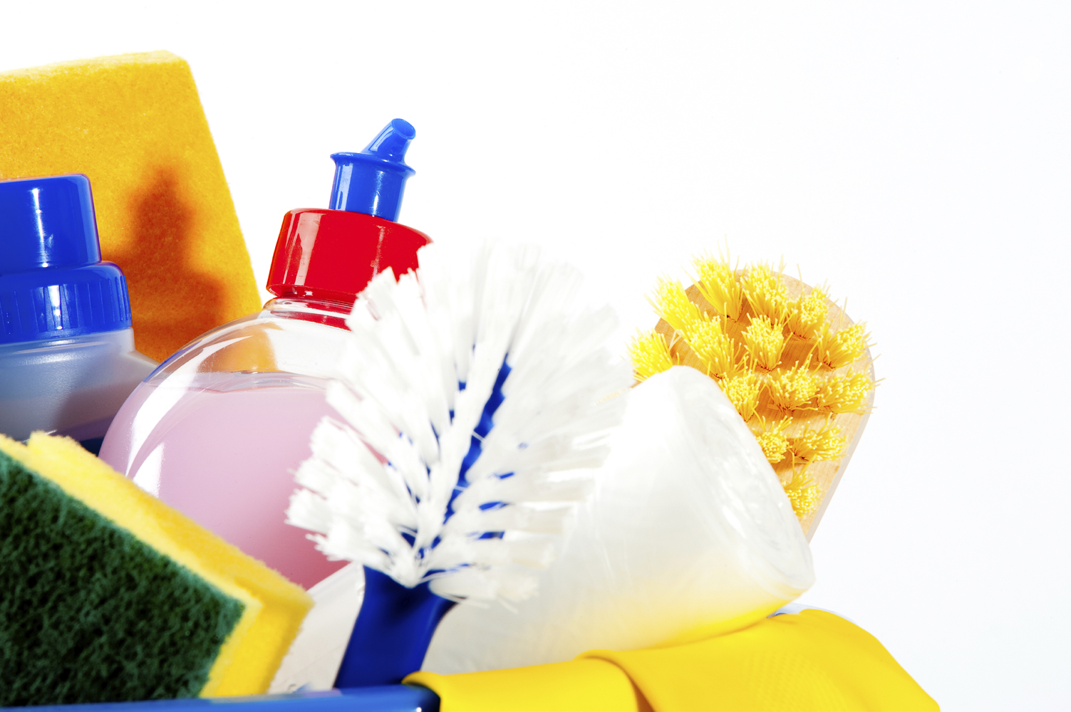 Storing Cleaners Safely