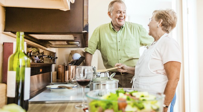Cooking Together for a Healthy Diet at Any Age