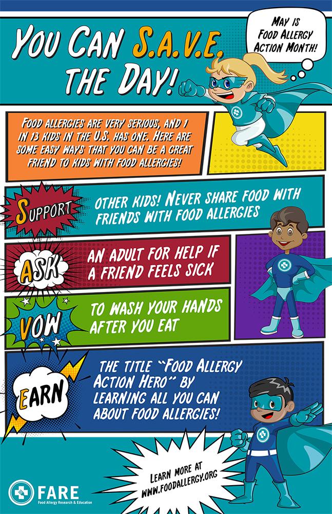 Raising Food Allergy Awareness