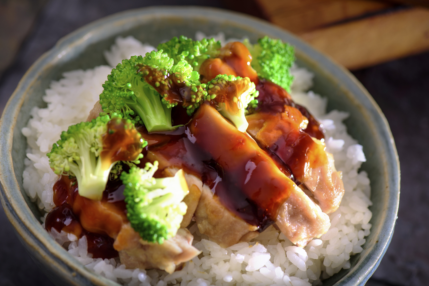 Lemon Chicken Teriyaki Rice Bowls