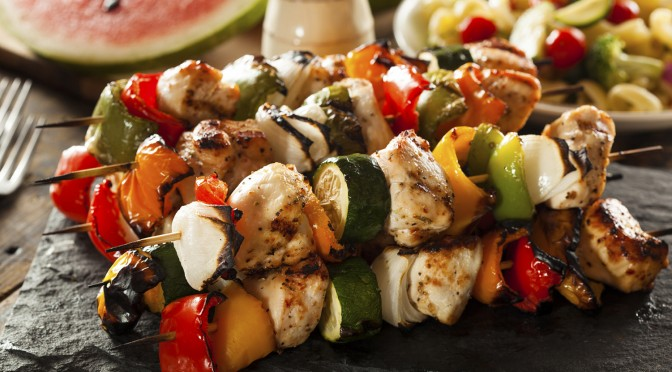 Homemade Healthy Kebabs