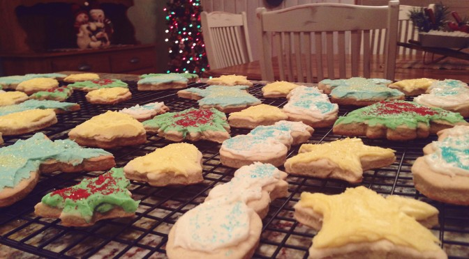 Holiday Cookie Eating