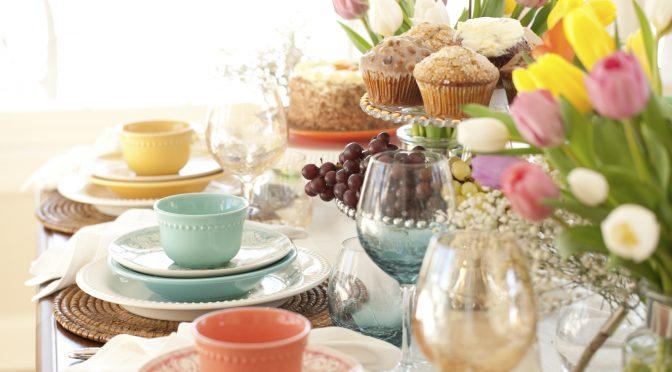 Spring Desserts' Sweet Notes