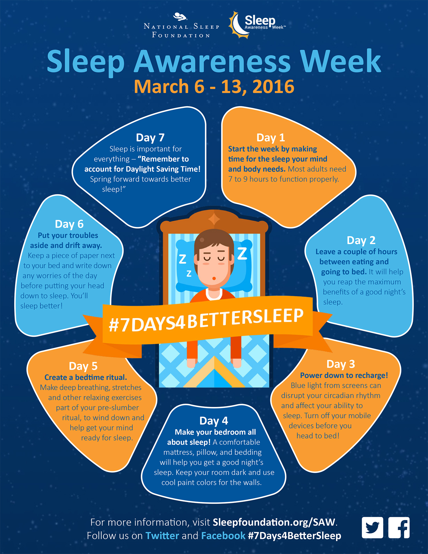 7 Days to Better Sleep