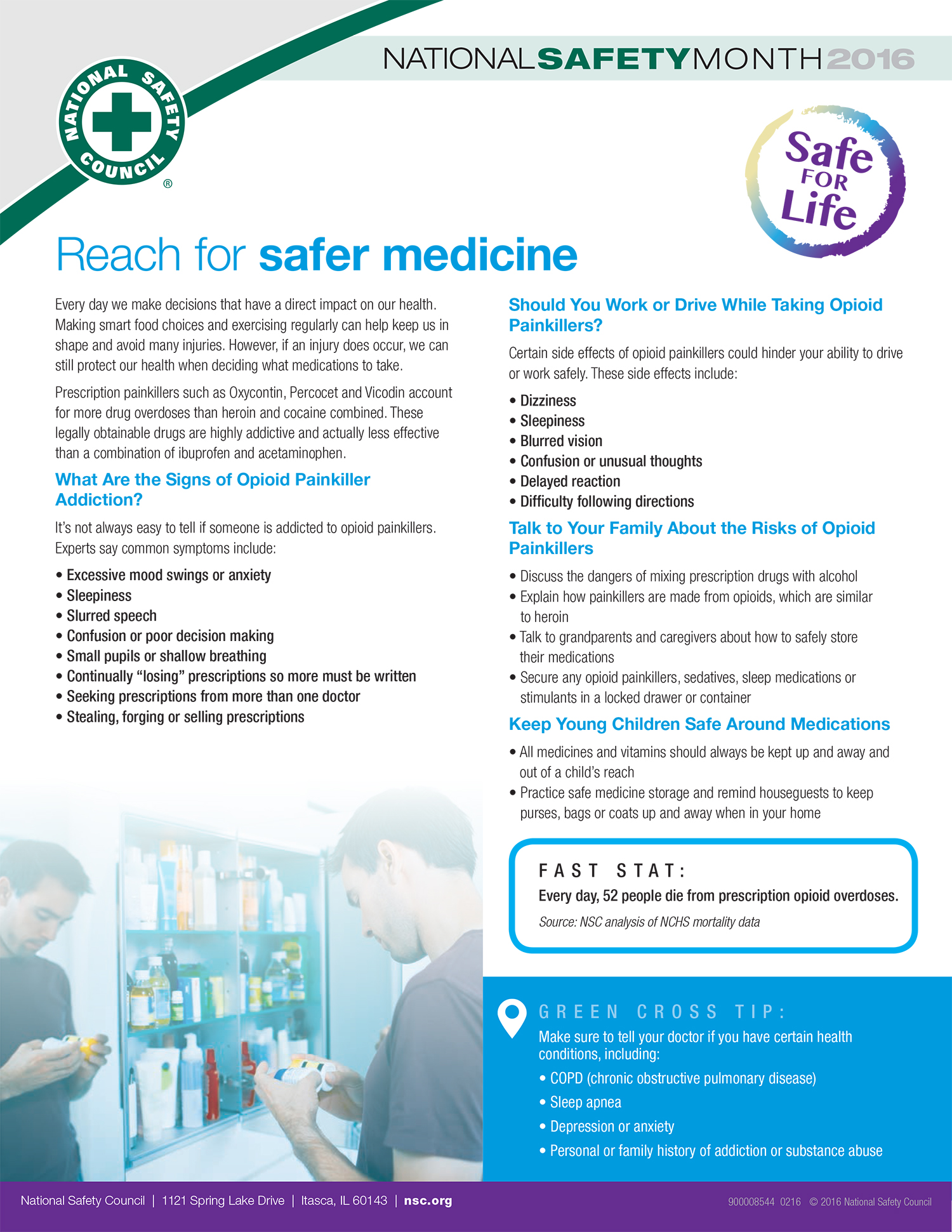Reach for safer medicine