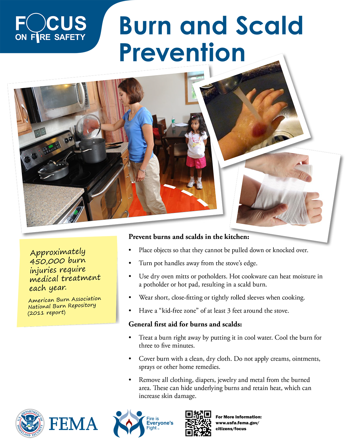 Preventing Burns and Scars