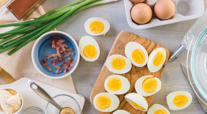 Healthy Hard-Boiled Egg Recipes