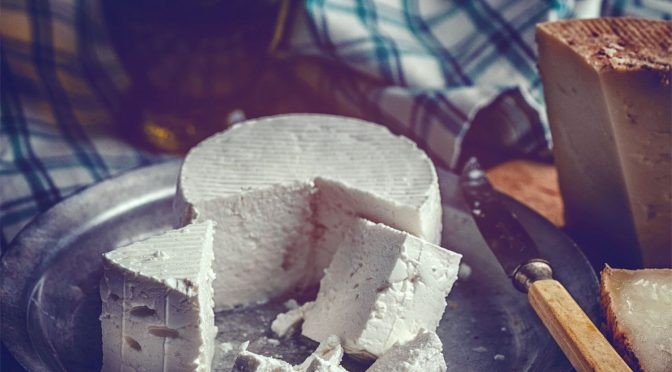 National Goat Cheese Month