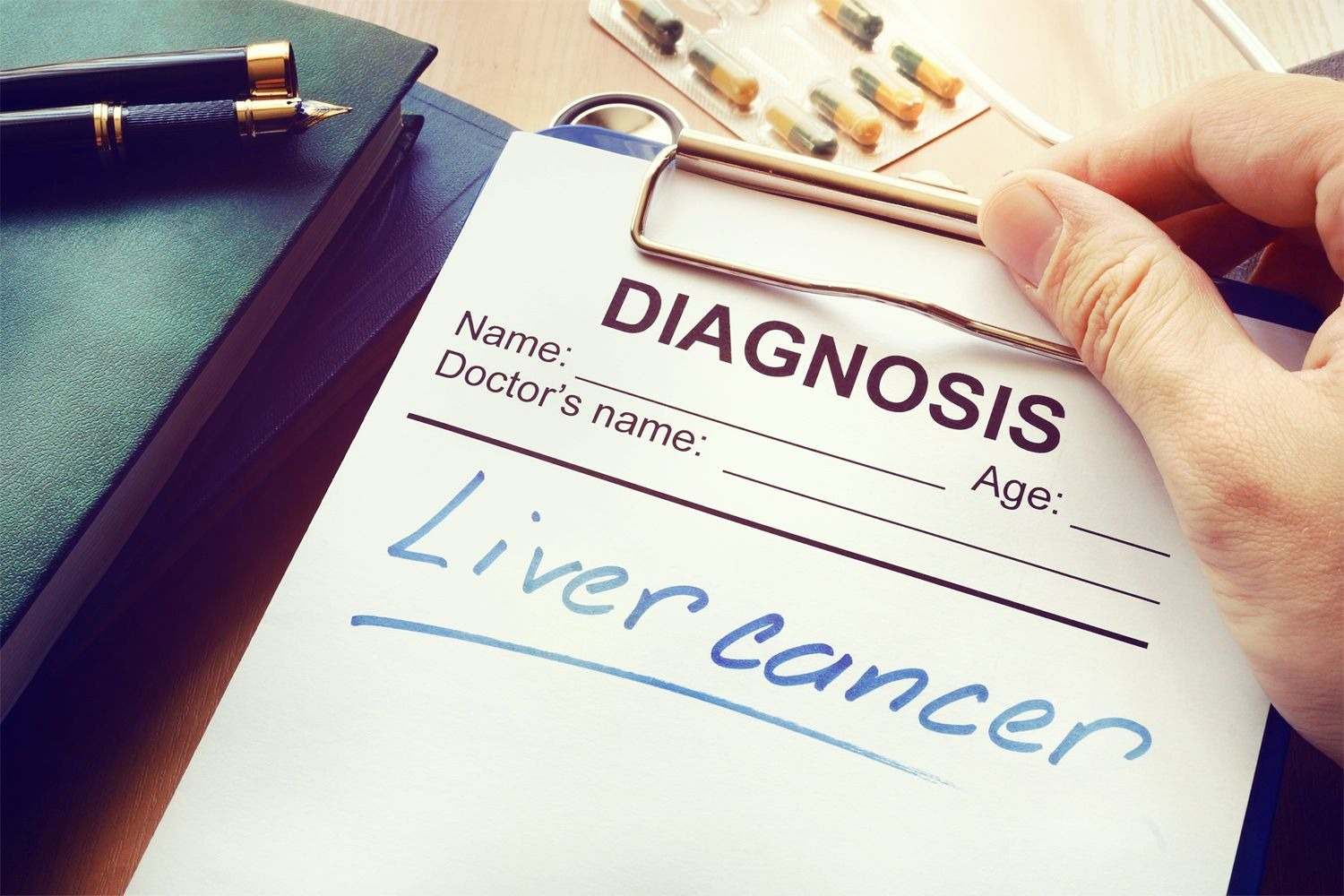 Diagnosis: Liver Cancer