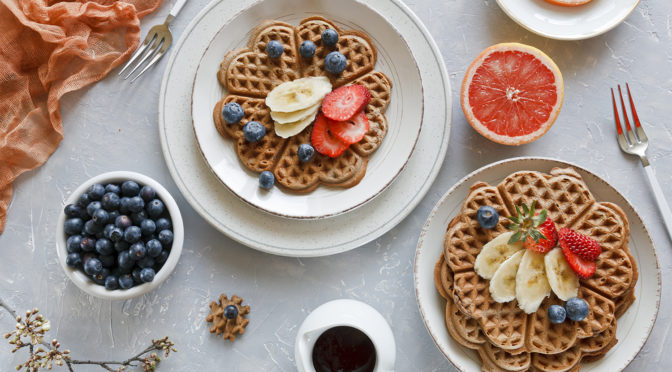 Healthy Waffle Day Recipes