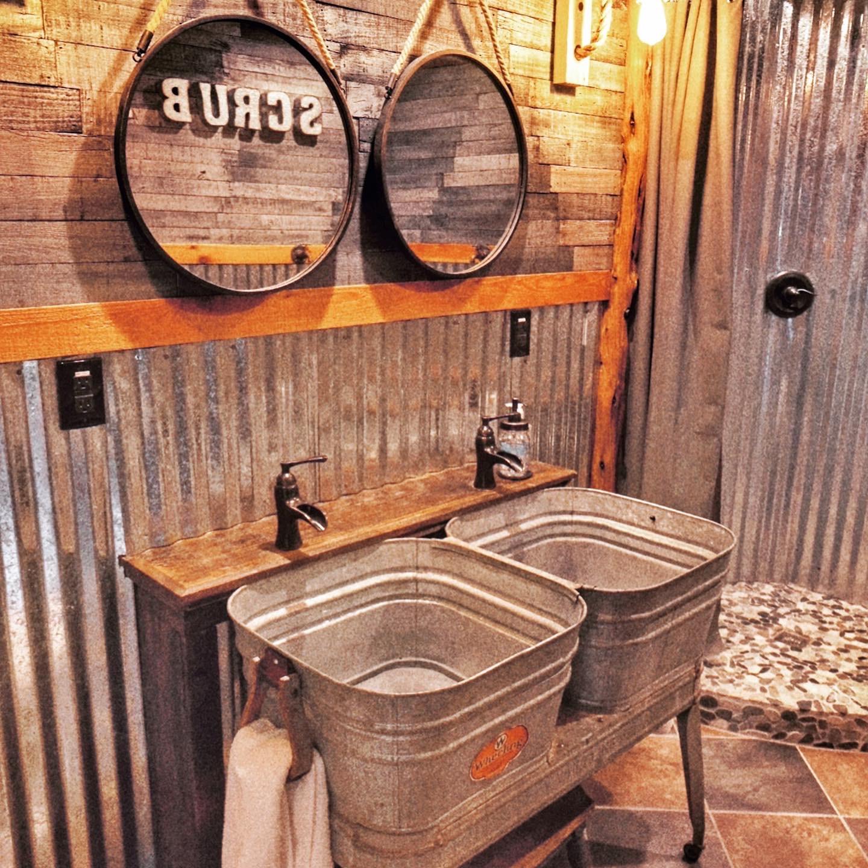 double sinks at rockwood waters b&b