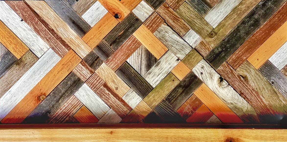 wood detail in glowing embers