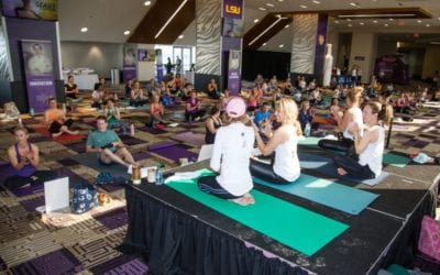 GEAUX YOGA: COMMUNITY SUPPORT THROUGH HOT YOGA IN BATON ROUGE