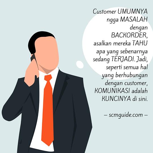 manajemen backorder