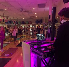 We had music at Go Pink!