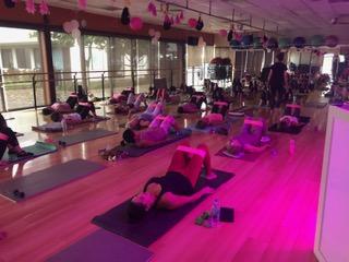 go pink mat pilates