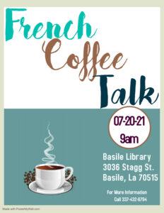 Basile - French Coffee Talk @ Basile Library