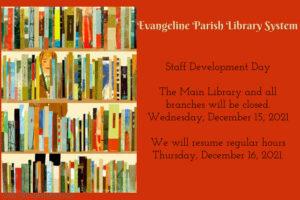 Staff Development Day (Library Closures)