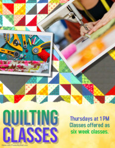 Quilting Classes @ Main Library (Ville Platte)