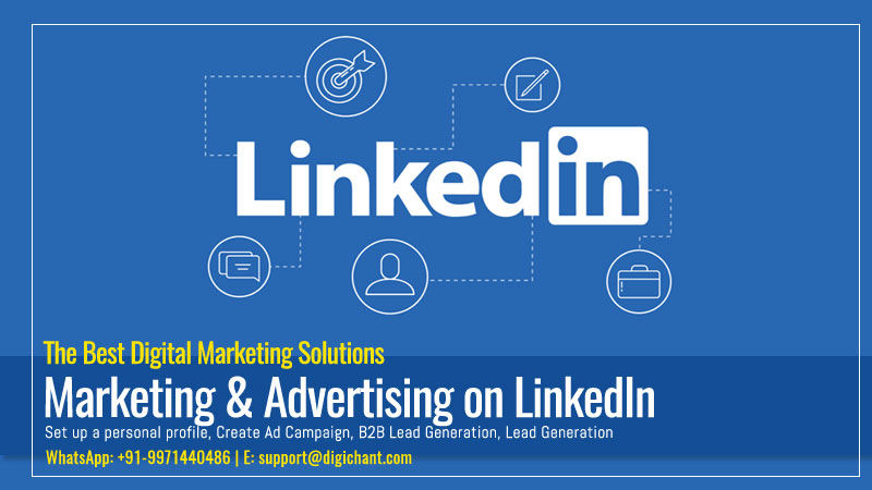 LinkedIn Marketing & Advertising Services in Lucknow Delhi India