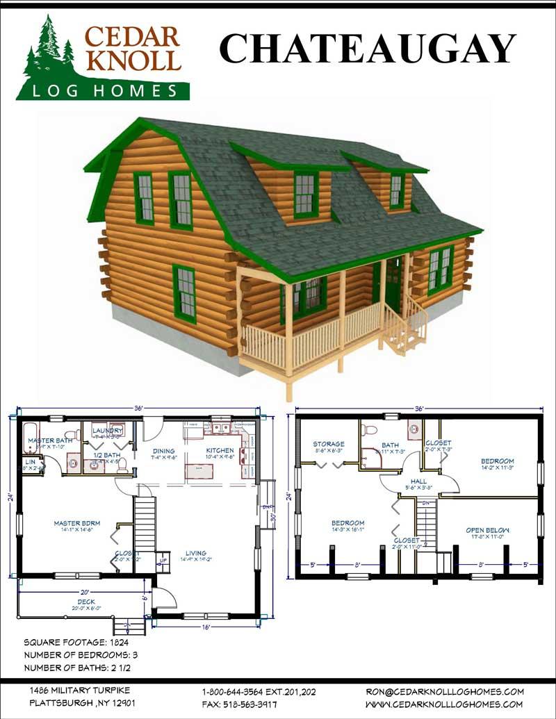 Log Home Kit New York