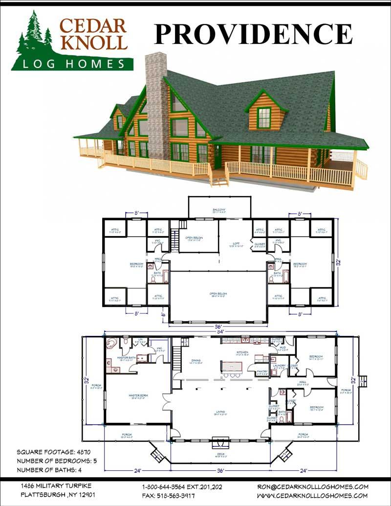 The Providence Log Home Kit
