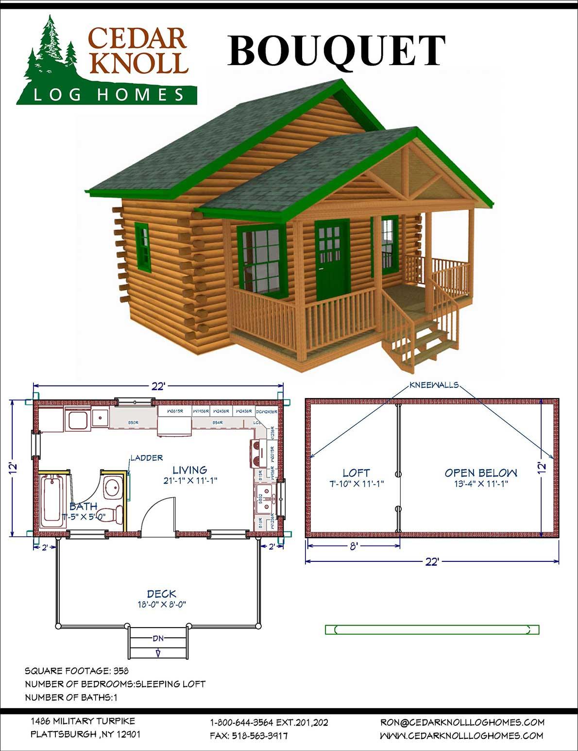 Bouguet Log Camp Kit