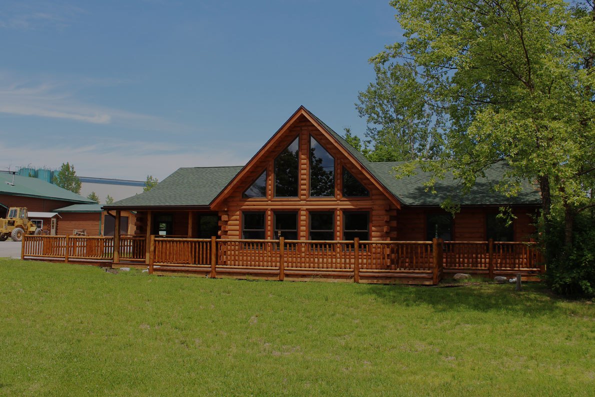 Log home kits by Cedar Knoll Log Homes in Plattsburgh
