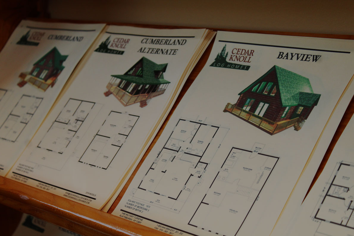 log home kits in New York and Vermont by Cedar Knoll Log Homes