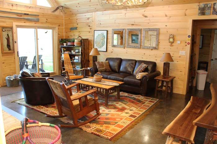 custom log home kits by Cedar Knoll Log Homes
