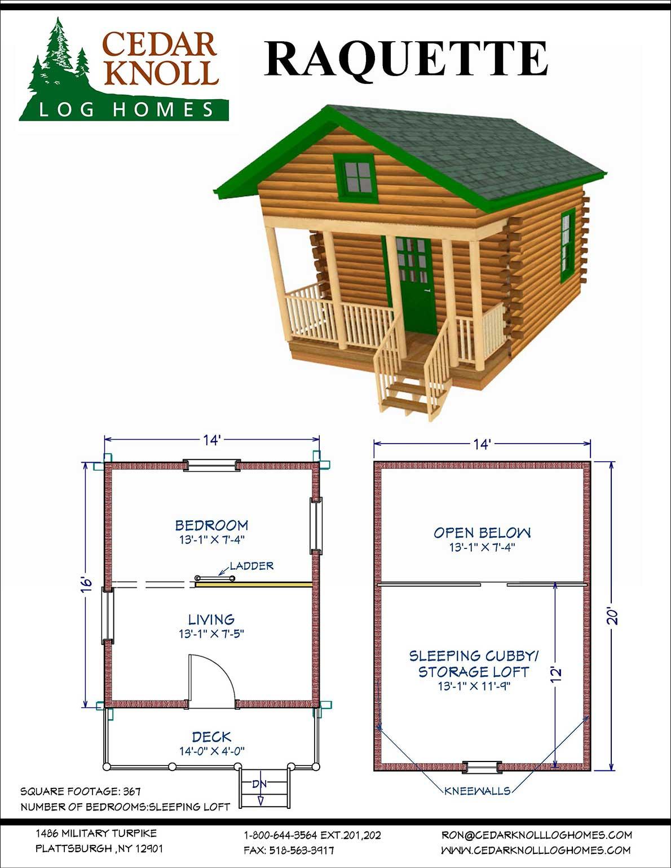 Raquette Log Camp Kit