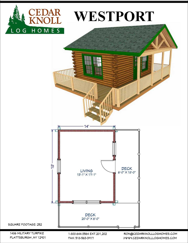 Westport log camp or home kit