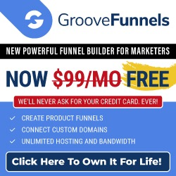 GrooveFunnels is free