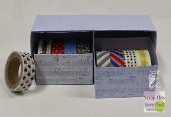 Washi Tape Storage Solution