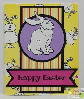 Yellow Happy Easter Card
