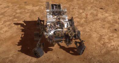 Envían desde marte la primera imagen tomada por el robot rover Perseverance