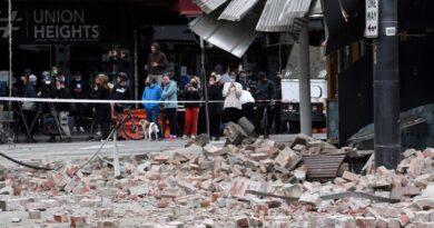 Australia fue sacudido por Terremoto superficial de magnitud 5,9